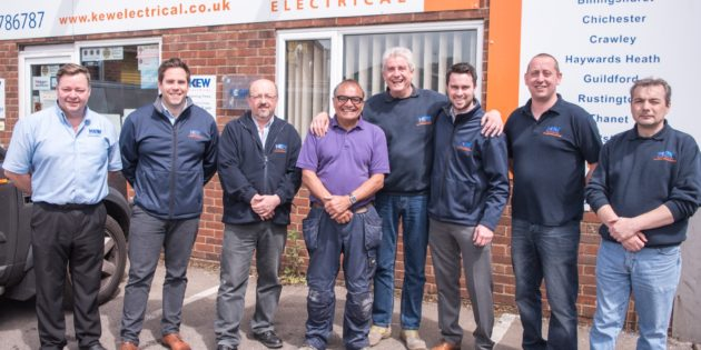 Kew Electrical's Chichester branch answers DIY SOS