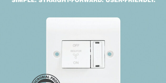 Scolmore combines fan isolator and fuse on one plate