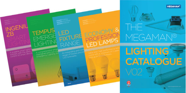 Megaman® launches new full lighting range catalogue