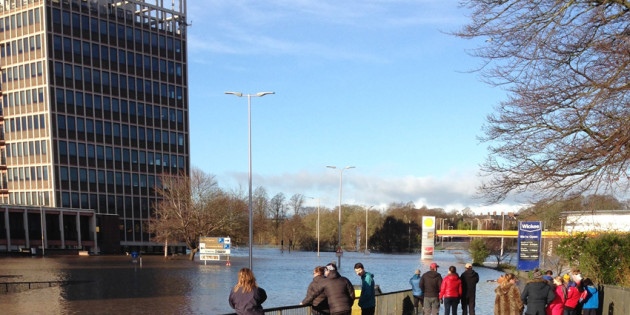 Wholesaler rallies the electrical industry to help Carlisle's Storm Desmond flood victims