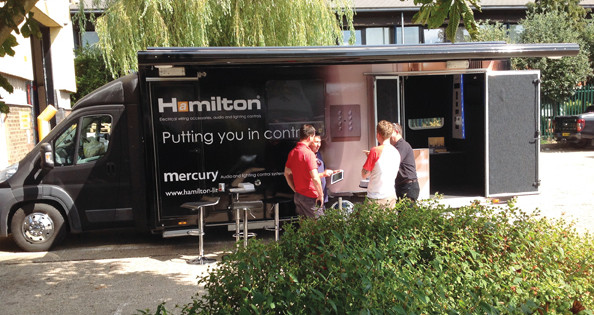 Hamilton roadshow to tour CEF branches in South Wales