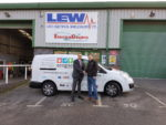 AWEBB Buying Group crowns 40th anniversary year presenting £10,000 van to competition winner