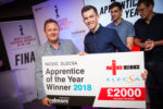 Zach beats off competition from more than 650 rivals to become NICEIC & ELECSA Electrical Apprentice of the Year