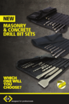 New C.K Masonry Drill Bit Sets – how do you keep yours?