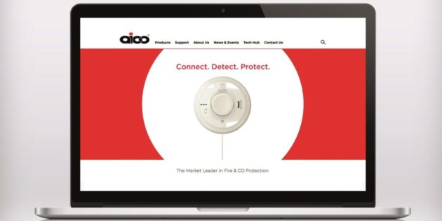 Aico website gets a makeover