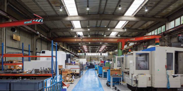 Middlesex Aerospace saves energy with Goodlight LEDs