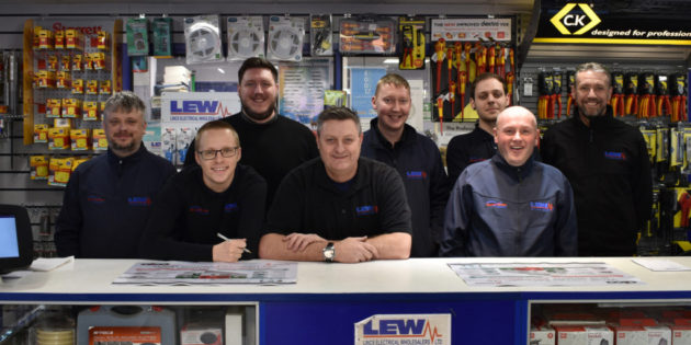 LEW pledges commitment to Electrical Industries Charity