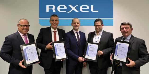 Rexel UK achieves prestigious certification