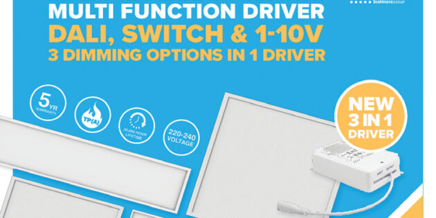 Ovia introduces new 3 in 1 multi-function dimmable LED driver