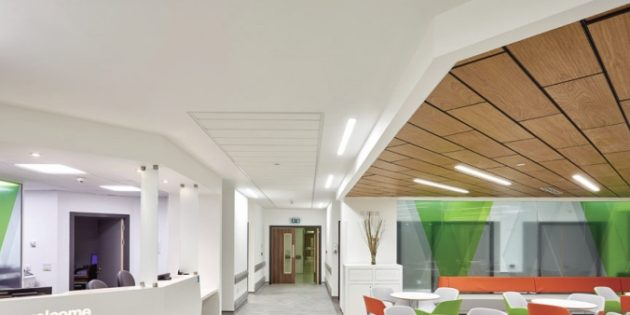 CP wireless lighting controls reduce costs at hospital