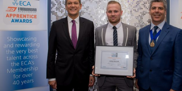 Top apprentice wins 2017 ECA Edmundson Award