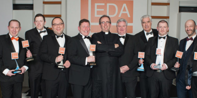 Former Communard, Rev Richard Coles, applauds EDA Award winners
