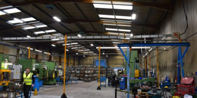 Ecolighting installs LEDs at Voestalpine Rotec warehouse