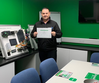 IAD Accreditation for Rexel's Deeside branch