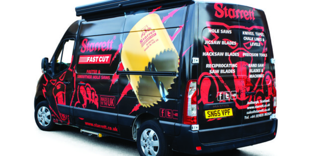 Demo van visits showcase power tool accessories