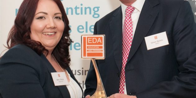 Megaman's Kerry wins national education and training award