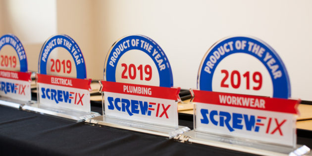 Winners of first ever Screwfix Product of the Year awards announced
