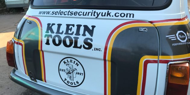 Super Rod and Klein Tools back local racing drivers