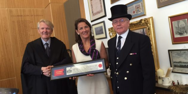 EDA Director joins The Worshipful Company of Lightmongers and gains Freedom of the City