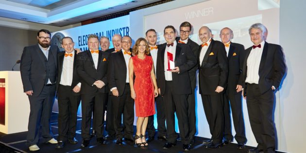 A winning night for Kew at the Electrical Industry Awards