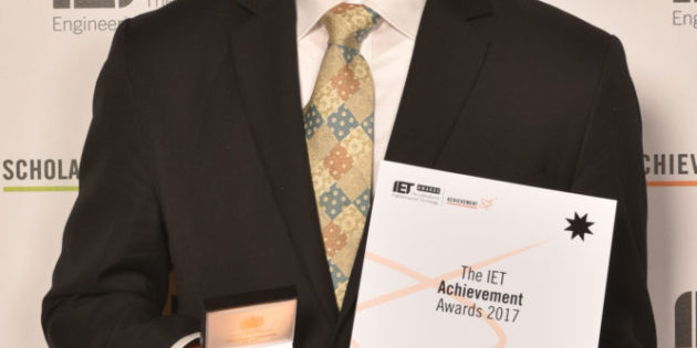 Inventor of blue LED lights wins at IET Achievement Awards
