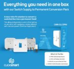 Scolmore launches Switch Supply to Permanent Conversion Pack