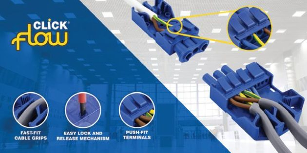 Halve the install time with Scolmore's new Fast Fit Connectors