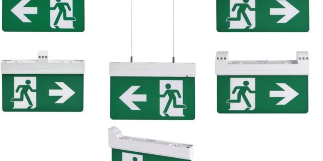5 IN 1 LED emergency exit sign