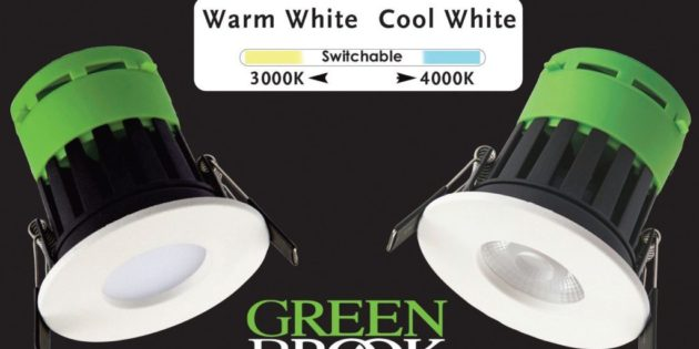 Vela Switch – colour changing LED Fire Rated Downlight