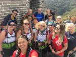 Challenge for a Cause team conquers one of the Seven Wonders of the World