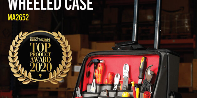 C.K Magma Technician's PRO Wheeled Case wins top product award