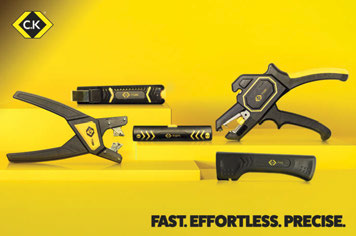 New C.K cable and wire stripping tools