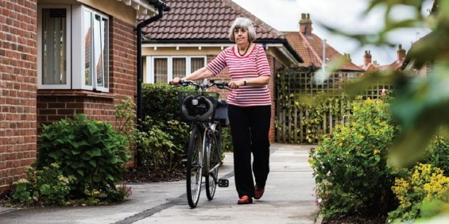 Sheltered housing upgraded with Aico radio frequency alarm