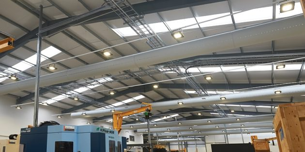 Luceco lights £5m machining facility for Grainger & Worrall