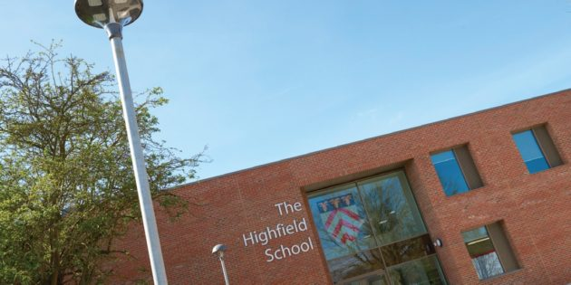 Luceco LED LuxPanels light £15 million facility at Highfield School in Letchworth