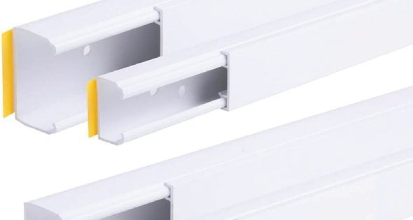 Pre-punched holes add to Mini Trunking appeal