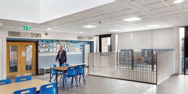 Zumtobel Group and its lighting brands Thorn and Zumtobel partner for Riverbank Primary School project