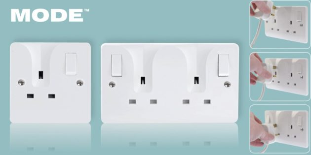 A la Mode wiring accessories from Scolmore
