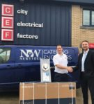 Vent-Axia's Lo-Carbon Svara competition winner blown away by TV prize
