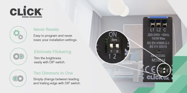 Scolmore's solves LED dimmers flickering issues