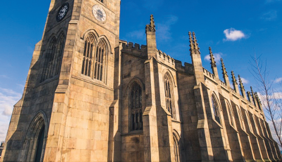 Praise for Scolmore's role in church conversion