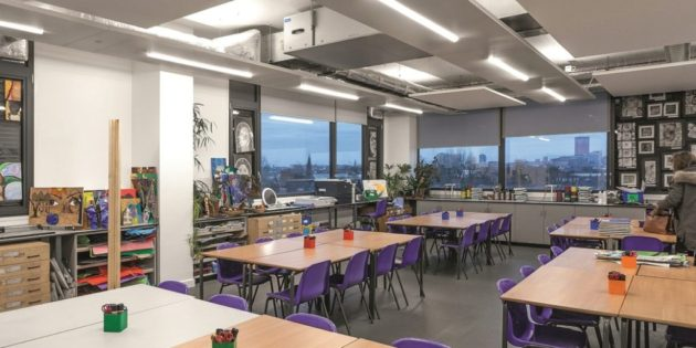 Thorn Lighting delivers a bright future for Academy