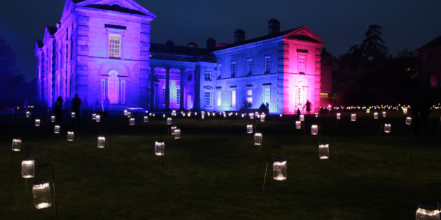 Plessey LEDs in light spectacular at Compton Verney Park